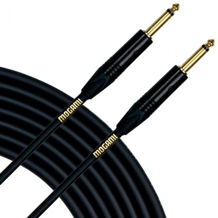Mogami 10 Foot Gold Instrument Cable
