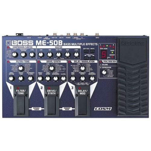 Boss ME-50B Multi-Effects Processor