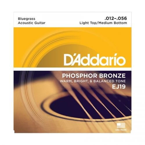 D'Addario EJ19 Phosphor Bronze Bluegrass Acoustic Guitar Strings