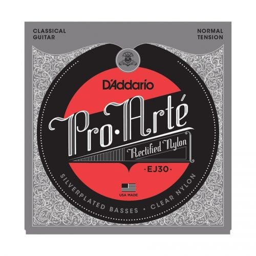D'Addario EJ30 Pro-Arté Rectified Trebles Normal Tension Classical Guitar Strings