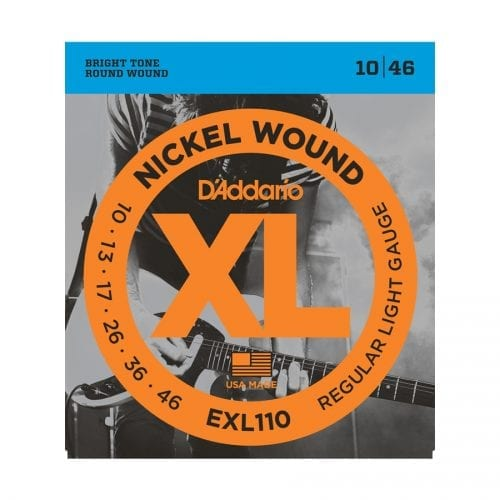 D'Addario EXL110 Nickel Wound Regular Light Electric Guitar Strings