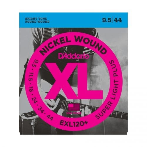 D'Addario EXL120+ Nickel Wound Super Light Plus Electric Guitar Strings