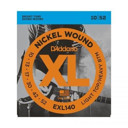 D'Addario EXL140 Nickel Wound Light Top Heavy Bottom Electric Guitar Strings