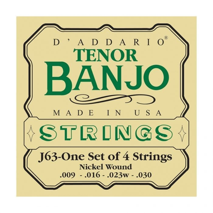 D'Addario J63 Nickel Tenor Banjo Strings