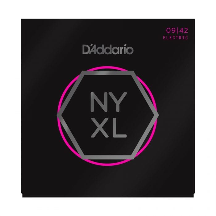 D'Addario NYXL0942 Nickel Wound Super Light Electric Guitar Strings