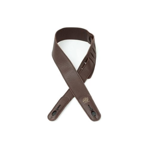 "Lock-It 2.5"" Dark Chocolate Luxury Leather"