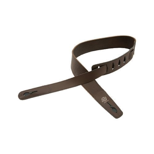 "Lock-It Straps 2.75"" Brown Leather"