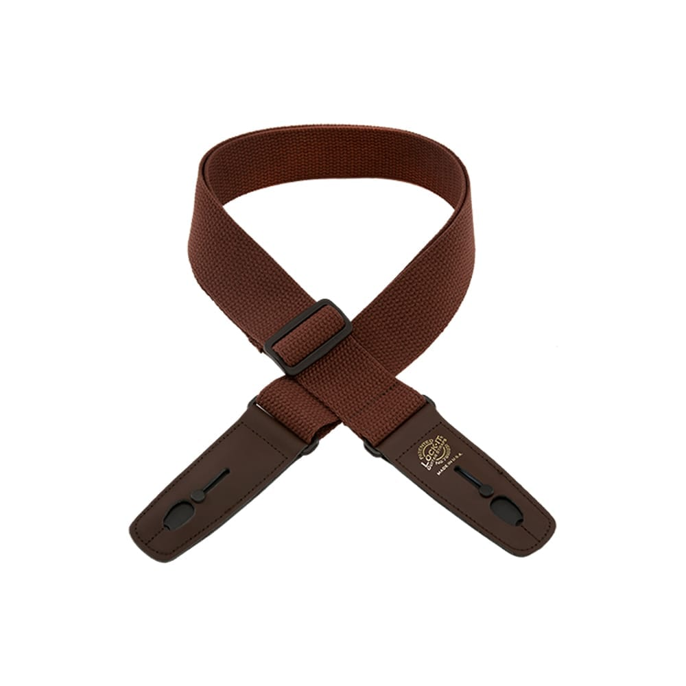 "Lock-It Straps 2"" Brown Cotton"