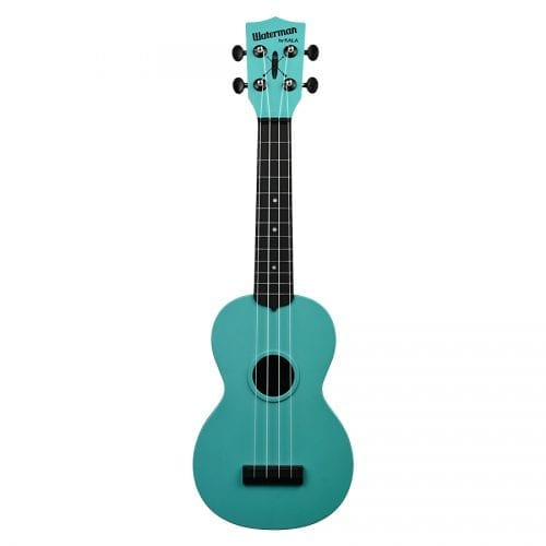 Kala MK-SWG-BL Makala Waterman Glow in the Dark Aqua Blue Ukulele