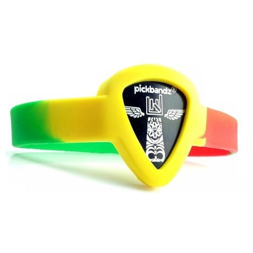Pickbandz Adult Medium-Large Reggae Bracelet