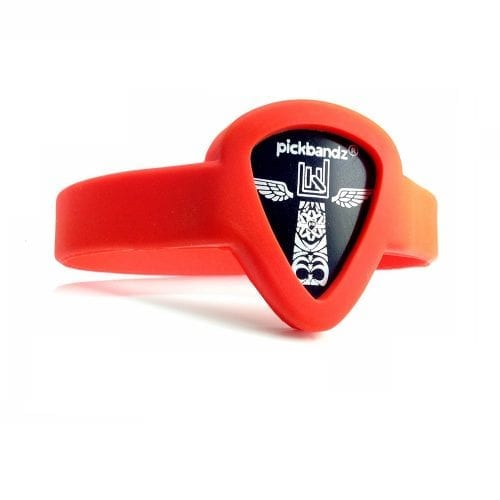 Pickbandz Youth Adult Small Fire Orange Bracelet