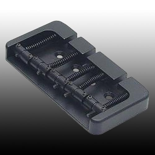 Allparts BB-3435-003 Black 5-String Hipshot Bridge