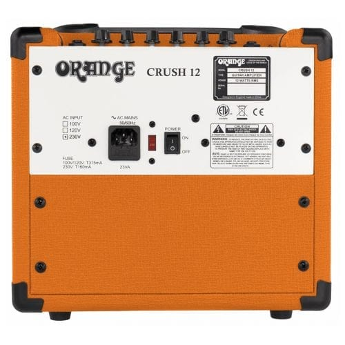 Orange Crush 12 Watt Guitar Combo Amp