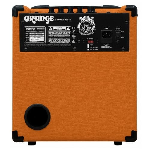 Orange Crush 25 Watt Bass Combo Amp