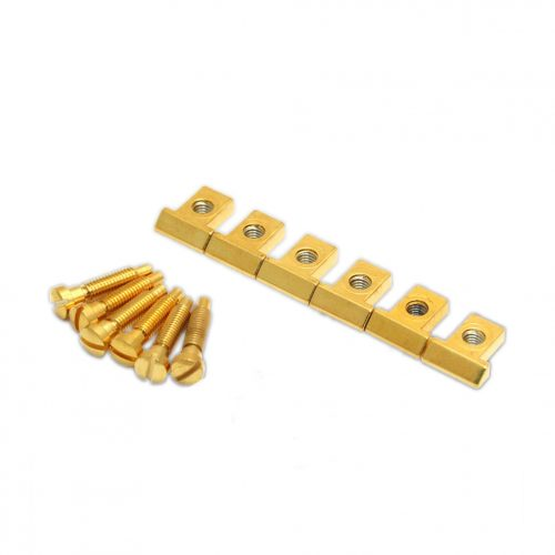 Allparts BP-0305-002 Gold Saddles