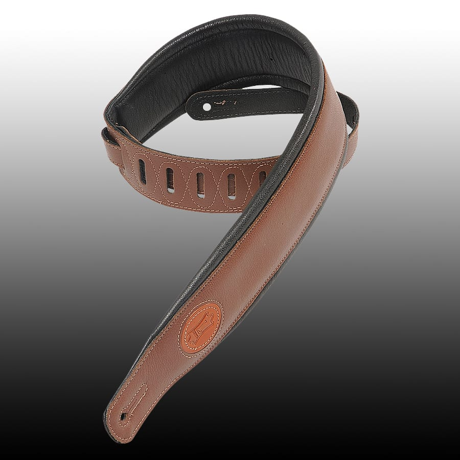 Levy's MSS2-BRN Classic Padded Strap