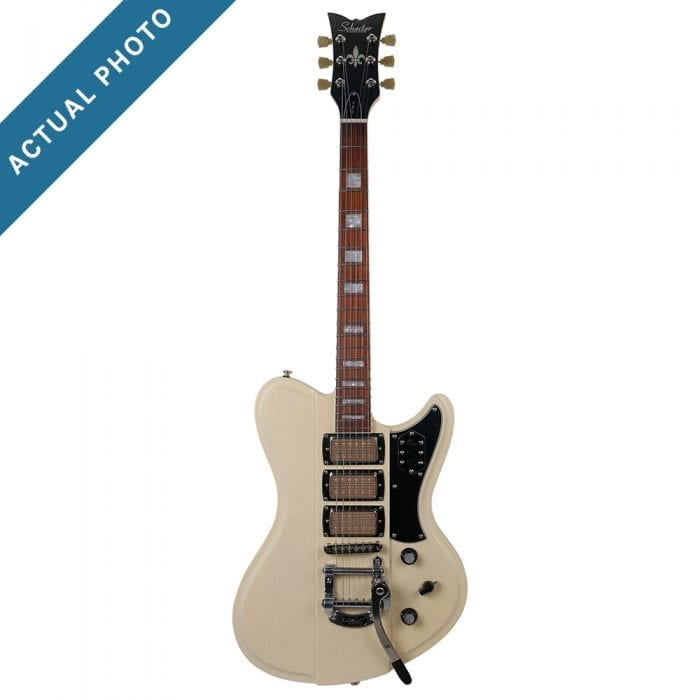Schecter Ultra-III Ivory Pearl