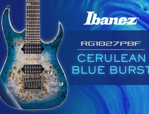 Ibanez RG1027PBF Cerulean Blue Burst Guitar Review