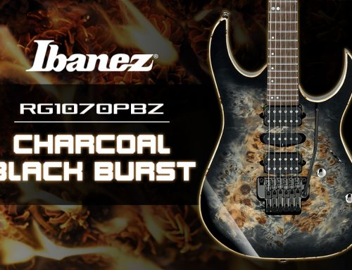 Ibanez RG1070PBZ Charcoal Black Burst Guitar Review