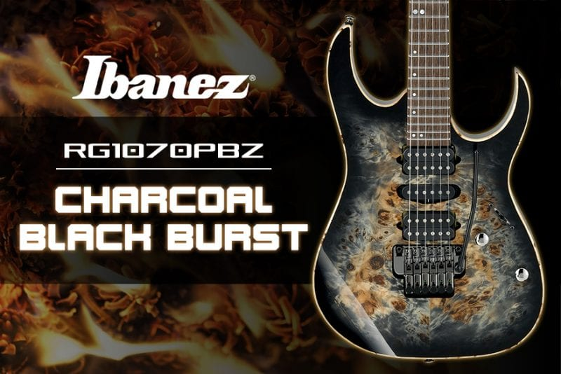 Ibanez RG1070PBZ Charcoal Black Burst