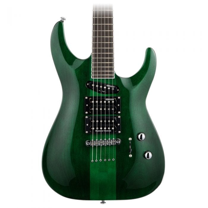 ESP LTD SC-20 Steph Carpenter See Thru Green
