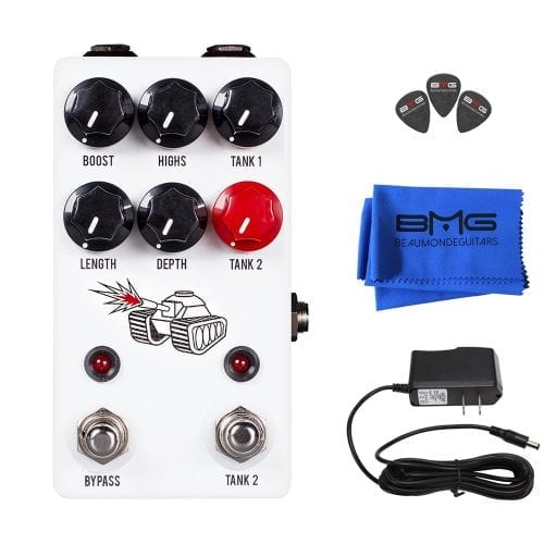 JHS Pedals Spring Tank Reverb Effects Pedal Bundle