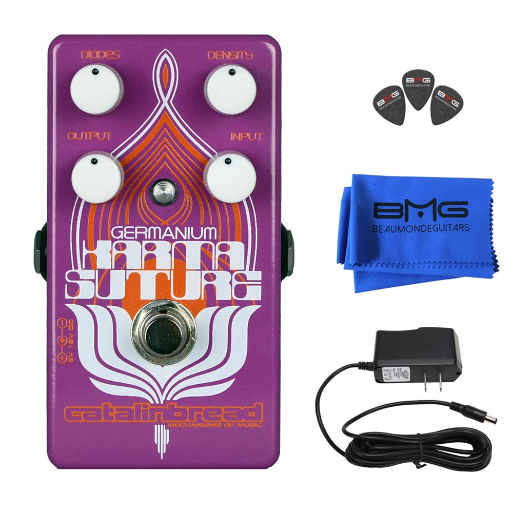 Catalinbread Karma Suture Ge Overdrive Effects Pedal Bundle Beau A Frequency Doubler Effect For Electric Guitar