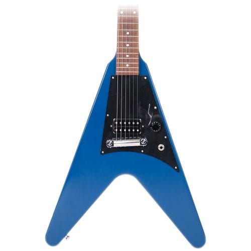 Used Gibson Melody Maker Flying V Satin Blue