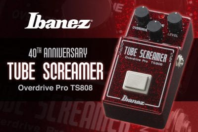 Ibanez TS808 40th Anniversary Overdrive Pro