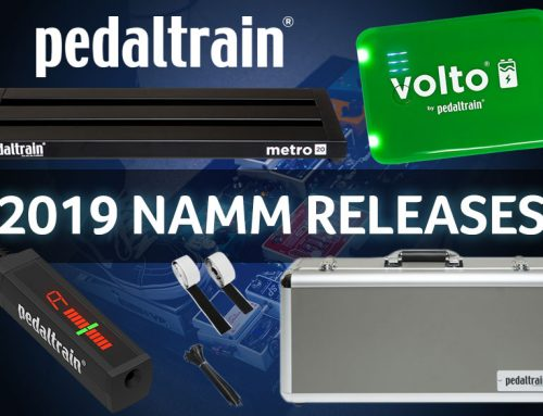 New Pedaltrain Products – NAMM 2019
