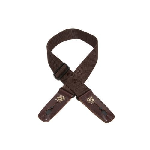 "Lock-It Straps 2"" Brown Polypro"