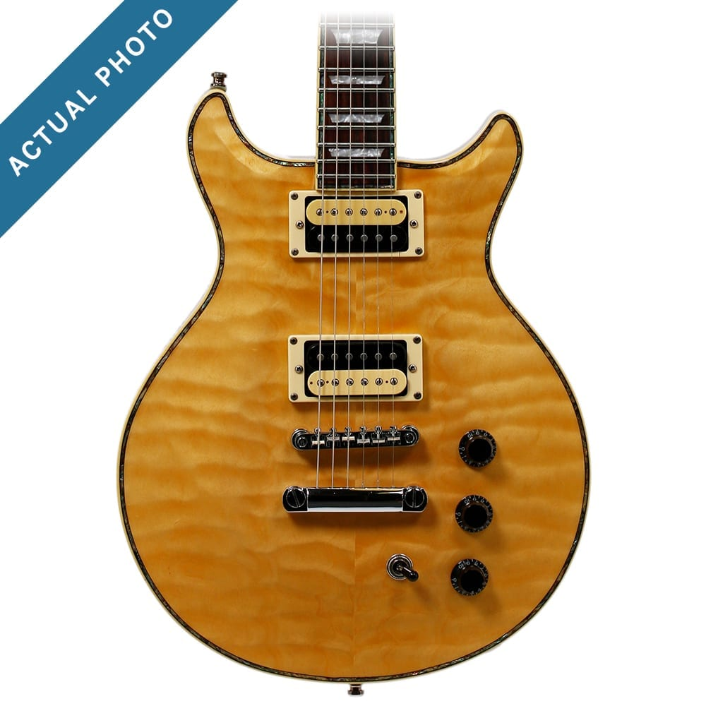 Hamer Sunburst QT Quilted Maple