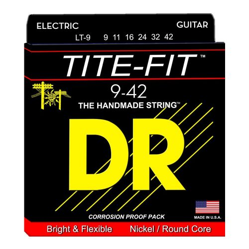 DR Strings LT-9 Tite-Fit Light