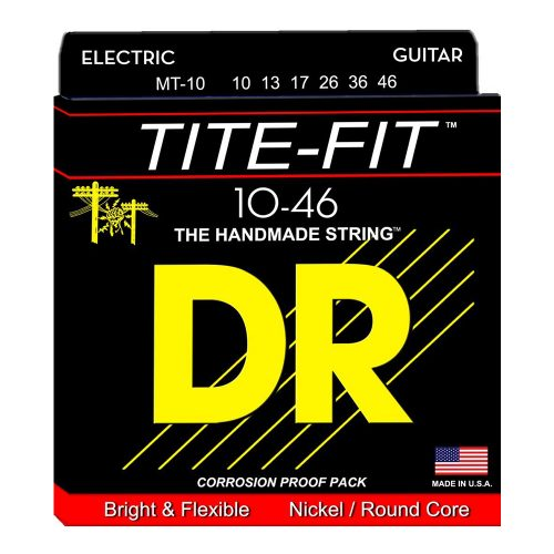 DR Strings MT-10 Tite-Fit Medium