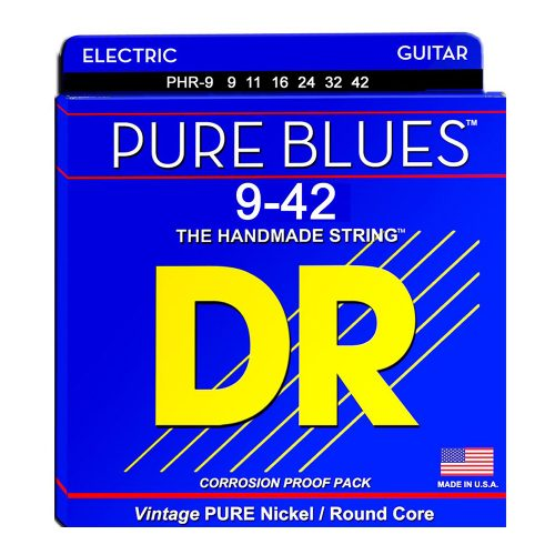 DR Strings PHR-9 Pure Blues Light