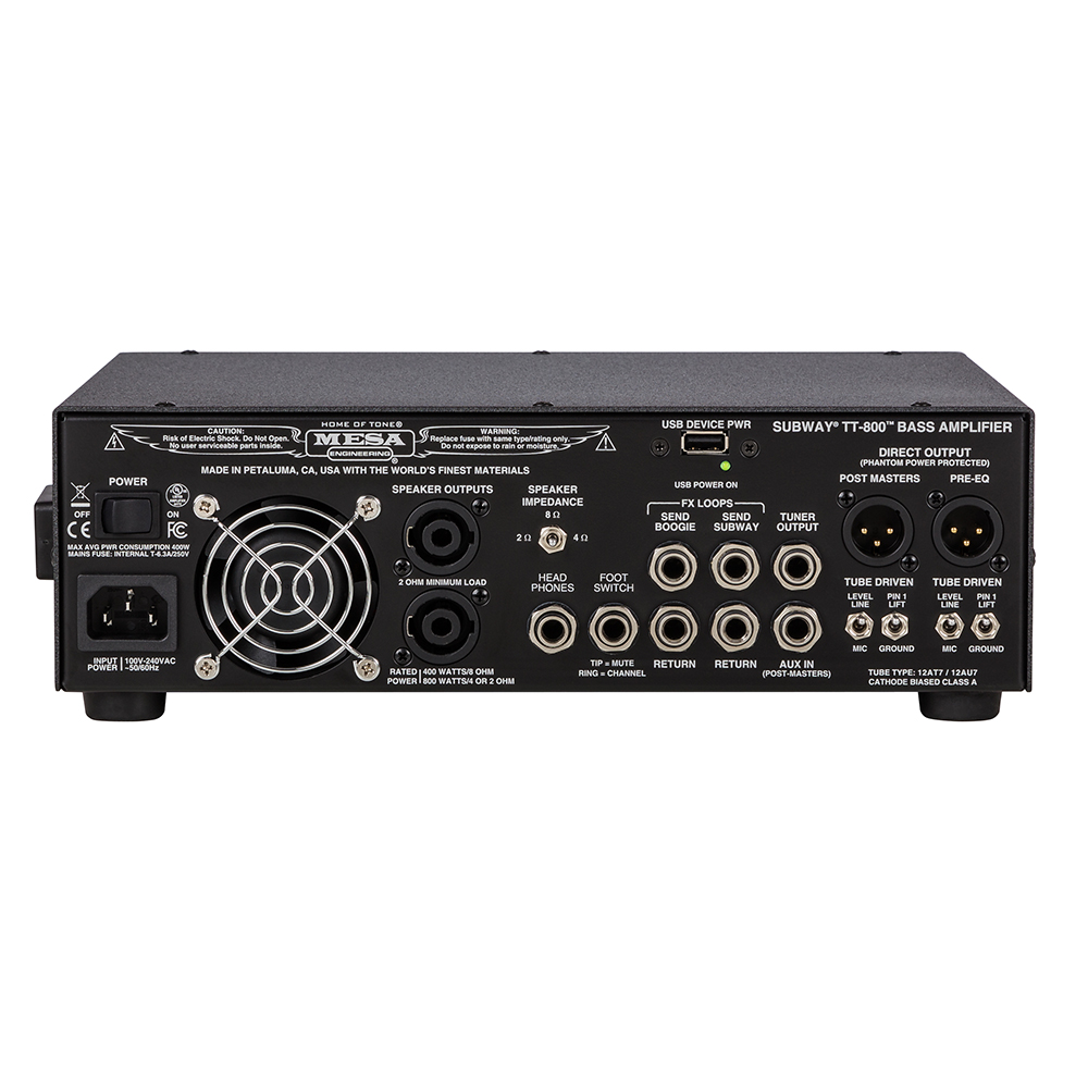 Mesa Boogie Subway TT-800 Bass Head