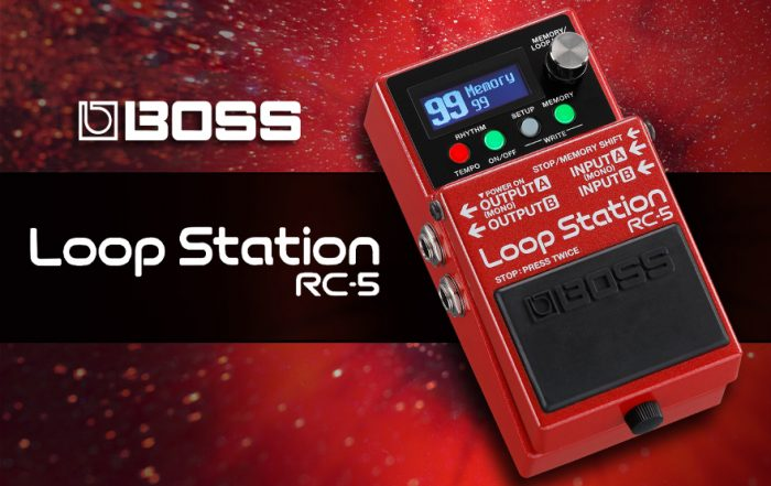 Boss Releases RC-5 Loop Station