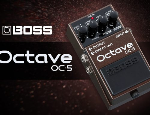 Boss Announces OC-5 Octave Pedal
