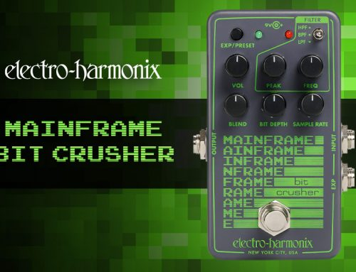 Electro-Harmonix Mainframe Bit Crusher Overview