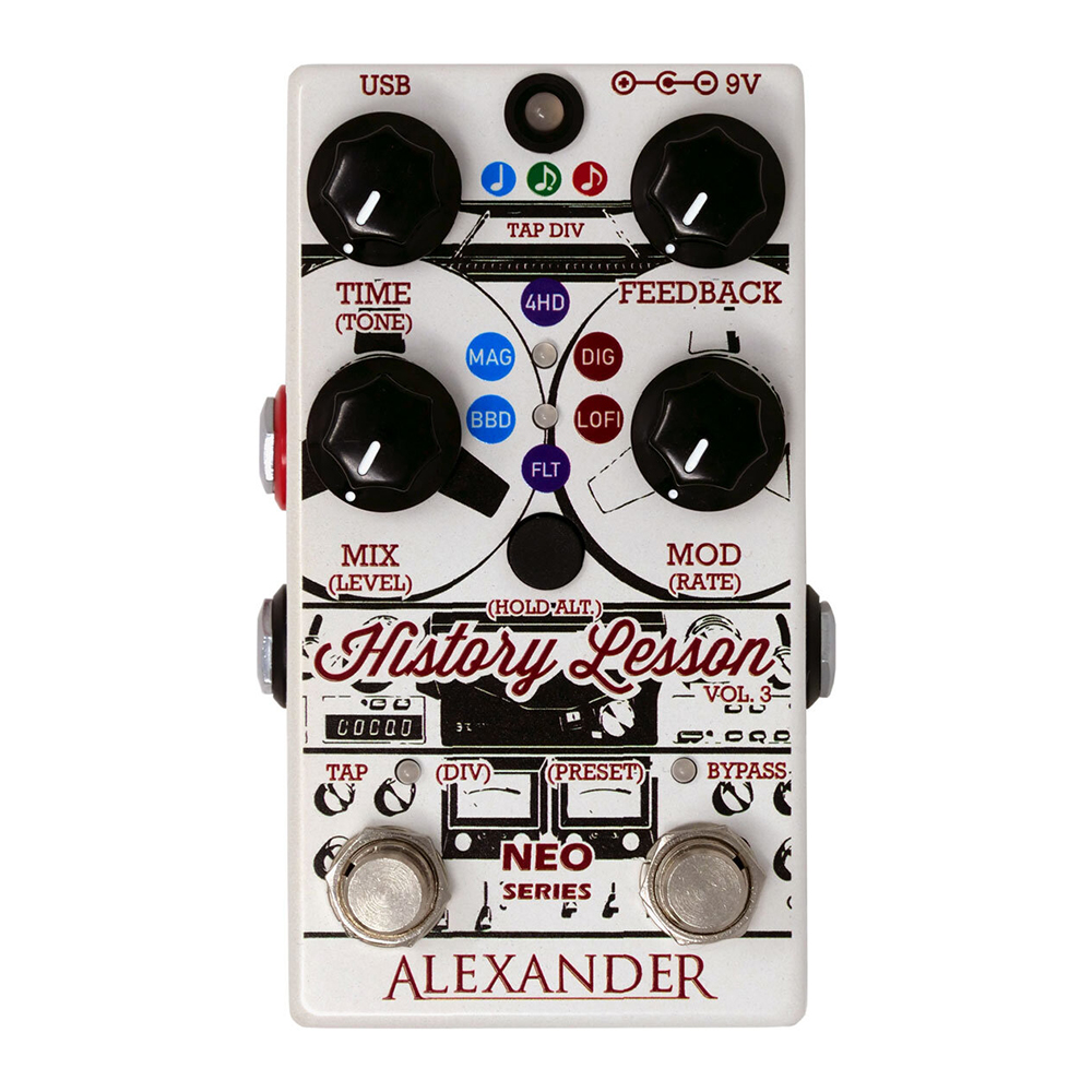 Alexander History Lesson V3 Effects Pedal