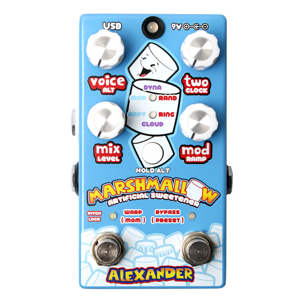 Alexander Marshmallow Effects Pedal