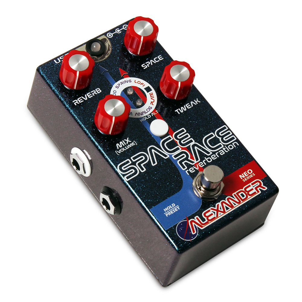 Alexander Space Race Effects Pedal