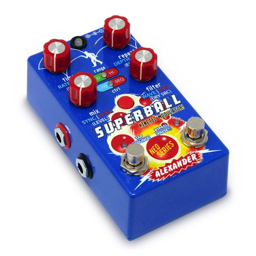 Alexander Super Ball Effects Pedal