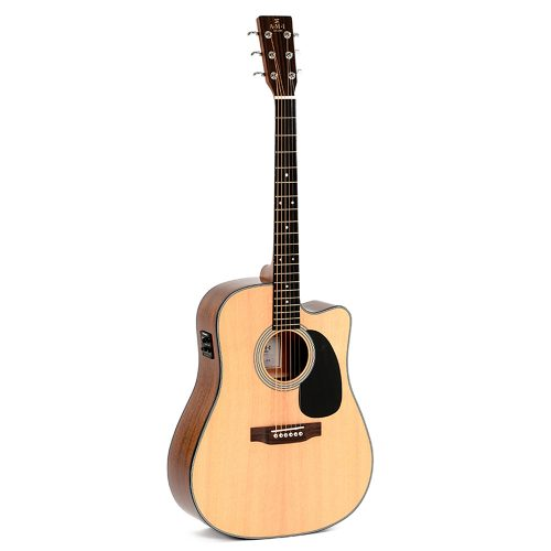 AMI DMC-1STE Acoustic Electric Guitar