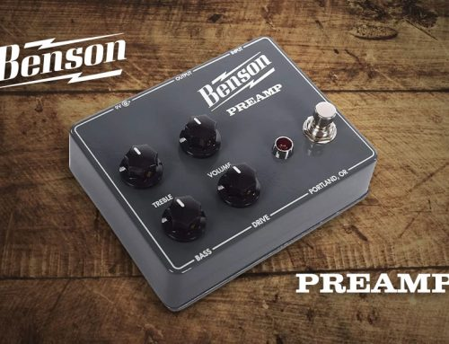 Benson Preamp Pedal Overview