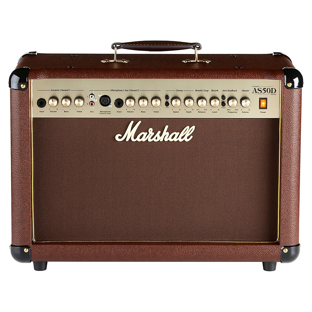 Marshall AS50D 50 Watt 2x8 Stereo Acoustic Combo