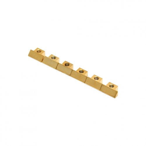 Allparts BP-0535-002 Gold Bridge Saddles