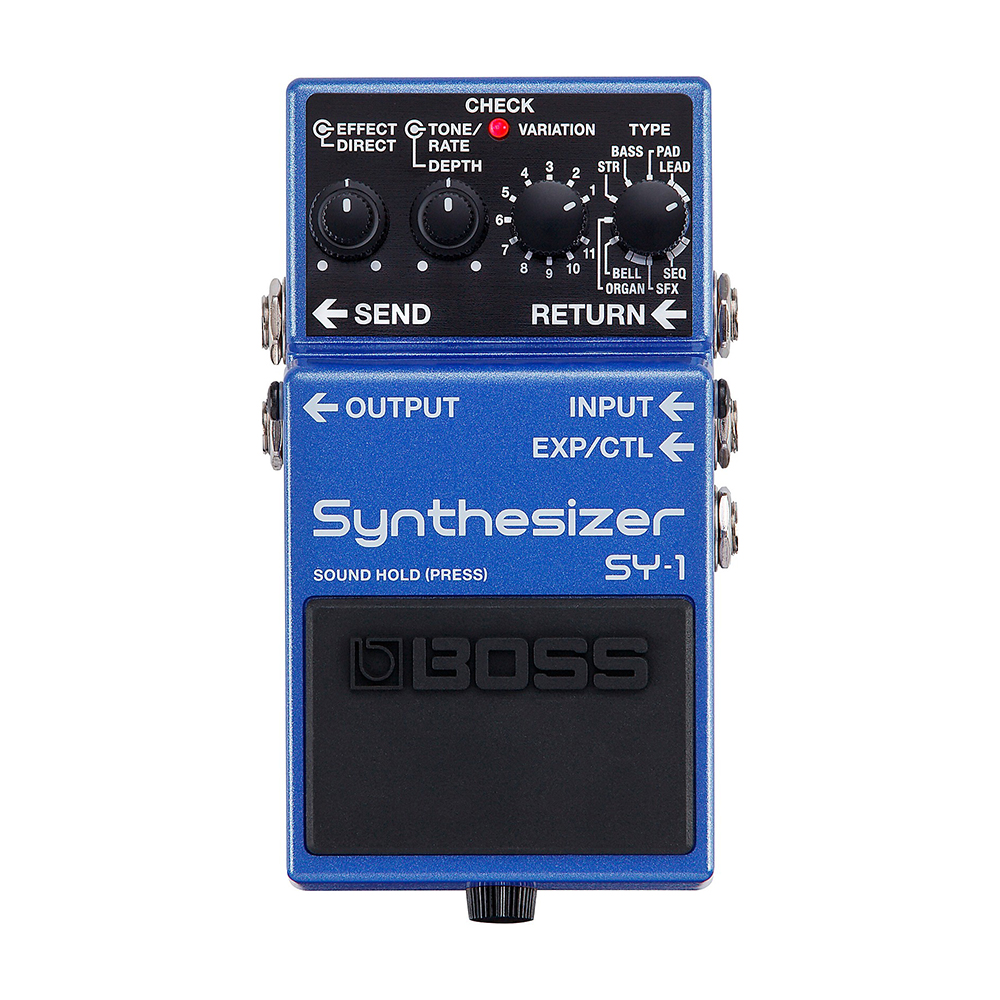 Boss SY-1 Guitar Synth Effects Pedal