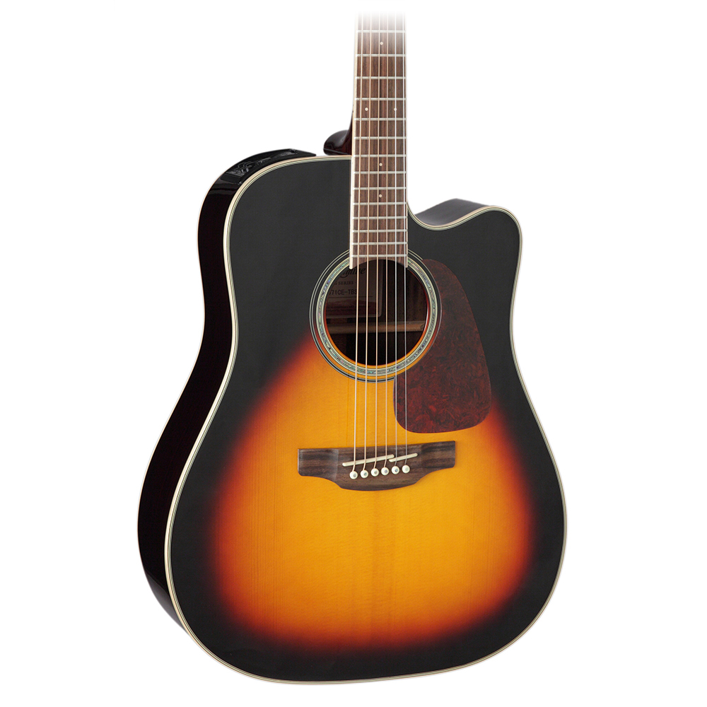 Takamine GD71CE Brown Sunburst Acoustic Electric Guitar