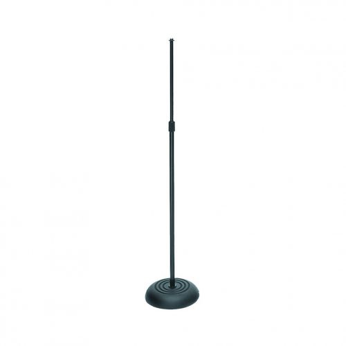 On-Stage MS7201B Round Base Black Microphone Stand